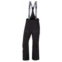 Husky Mithy M černá pánské nepromokavé zimní lyžařské kalhoty Huskytech 20000