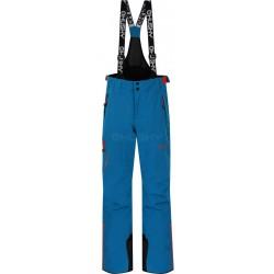 Husky Zeus K modrá dětské nepromokavé zimní lyžařské kalhoty HuskyTech Stretch 15000