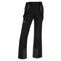 Kilpi Elare-W černá dámské nepromokavé zimní lyžařské kalhoty
