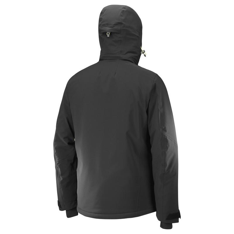 Salomon Brilliant Jacket M black C10027 pánská nepromokavá zimní ... 3646cdc2b1d