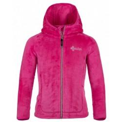 Kilpi Arles-JG růžová dětská fleecová mikina