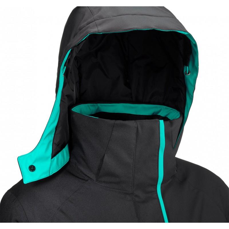 ... Salomon Stormpunch Jacket W Black 404444 dámská nepromokavá zimní  lyžařská bunda2 ... 159e3cb0c1