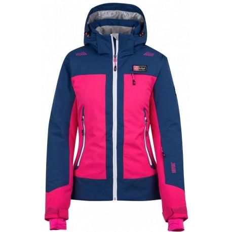 Kilpi Sawa-W růžová dámská nepromokavá zimní lyžařská bunda ca31a39c14