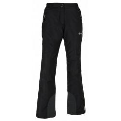 Kilpi Gabone-W černá dámské nepromokavé zimní lyžařské kalhoty