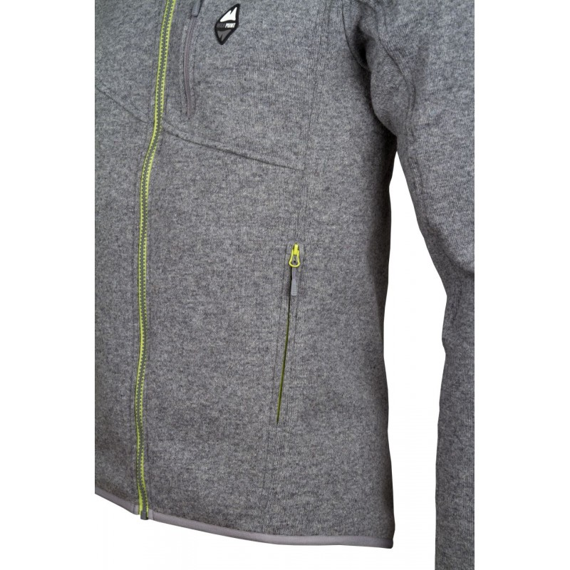 ... High Point Skywool 3.0 Sweater grey pánský vlněný svetr Tecnowool4 1a4c517689