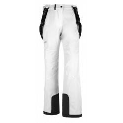 Kilpi Europa-W bílá dámské nepromokavé zimní lyžařské kalhoty
