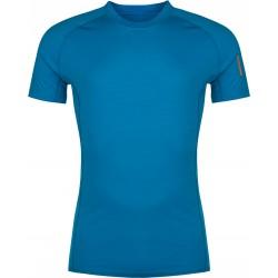 Zajo Bjorn Merino T-shirt SS Greek Blue pánské triko krátký rukáv Merino