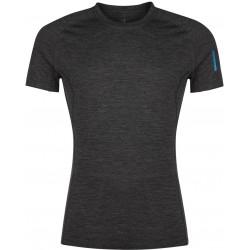 Zajo Bjorn Merino T-shirt SS Black pánské triko krátký rukáv Merino vlna