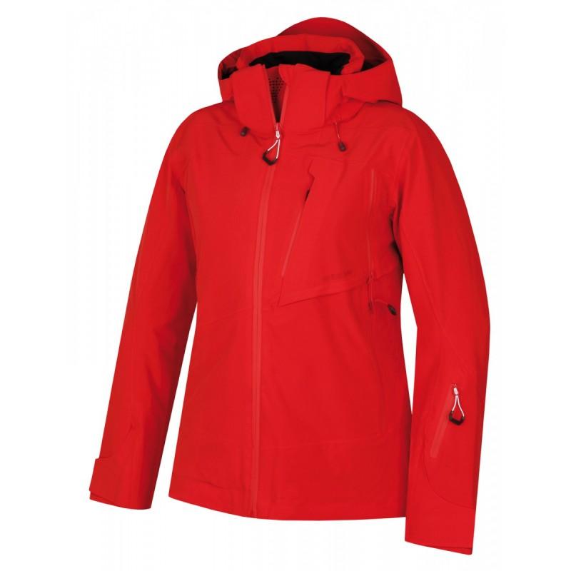 Husky Mayni L červená dámská nepromokavá zimní lyžařská bunda ... dcc9af934f