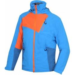Husky Zawi Junior modrá dětská nepromokavá zimní lyžařská bunda