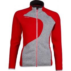High Point Skywool 3.0 Lady Sweater red/grey dámský vlněný svetr Tecnowool