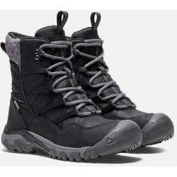 Keen Hoodoo III Lace Up WP W black/magnet dámské zimní nepromokavé boty