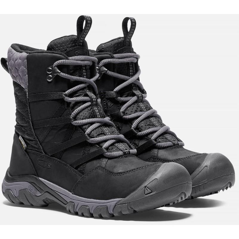 150facce488 Keen Hoodoo III Lace Up WP W black magnet dámské zimní nepromokavé boty (3  ...