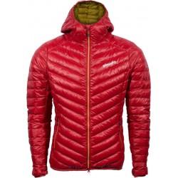 Pinguin Breeze Hoody Jacket červená dámská lehká péřová bunda