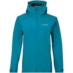Berghaus Paclite 2.0 Shell Jacket W turquoise dámská nepromokavá bunda