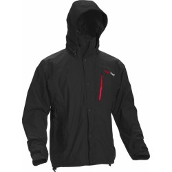 High Point Thunder Jacket black/red zip pánská nepromokavá bunda BlocVent 2L SDWR
