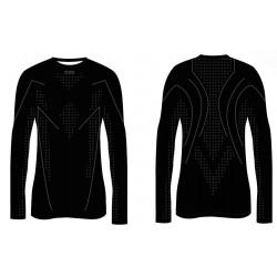 R2 ATF003A black grey pánské termo triko dlouhý rukáv a5a1f9c49d