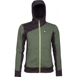 High Point Woolcan 4.0 Lady Hoody fall green/black dámská vlněná mikina