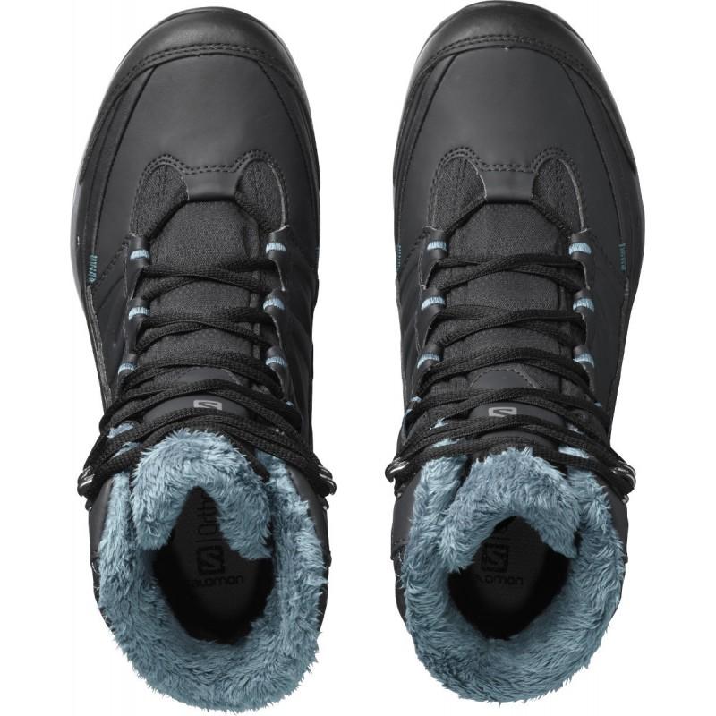 4c7dedc2dc1 ... Salomon Kaina Mid GTX phantom black hydro 404735 dámské zimní  nepromokavé boty (2 ...
