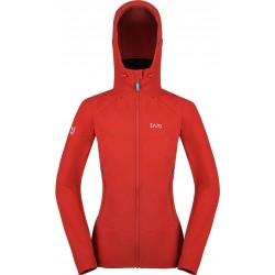 Zajo Air LT Hoody W Jkt racing red dámská softshellová bunda