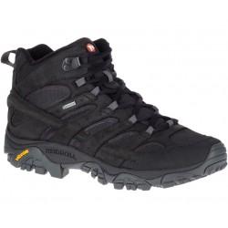 Merrell Moab 2 Smooth Mid GTX black J46551 pánské nízké nepromokavé boty