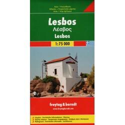 Freytag a Berndt Lesbos 1:75 000 automapa