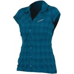 Direct Alpine Sandy petrol dámská košile krátký rukáv