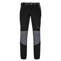 Kilpi Hosio-M černá pánské odepínací turistické kalhoty