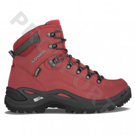 bcd4adef2 Lowa Renegade GTX Mid W chili dámské nepromokavé kožené trekové boty
