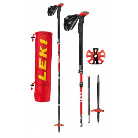Leki Tour Stick Vario Carbon V, model 2018