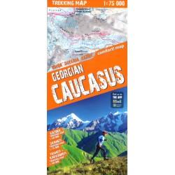 TerraQuest Georgian Caucasus 1:75 000 Svaneti+Kazbek+Tusheti/Khevsureti
