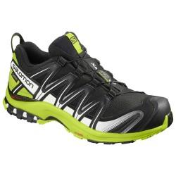 Salomon XA Pro 3D GTX black/lime green/white 406714 pánské nepromokavé běžecké boty1