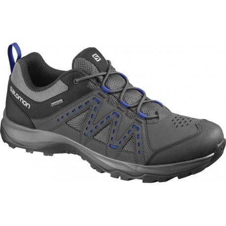 Salomon Rodica GTX magnet/phantom/mazarine bule 409253 pánské nízké nepromokavé boty