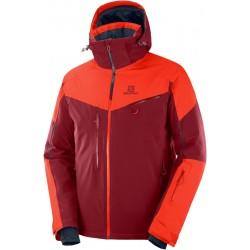 Salomon Icespeed Jkt M biking red/ch.tomato C12222