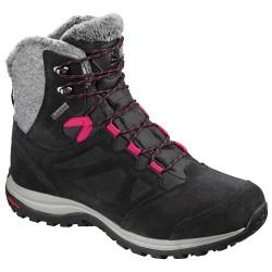 Salomon Ellipse Winter GTX W black/phantom/cerise 404699 dámské zimní nepromokavé boty