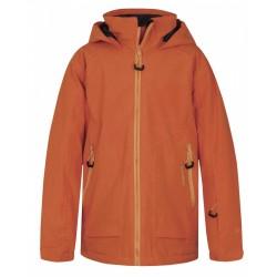 Husky Zengl Junior tlumená oranžová dětská nepromokavá zimní lyžařská bunda