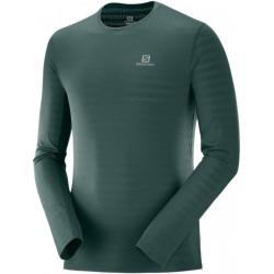 Salomon XA LS Tee M green gables C11647 pánské triko dlouhý rukáv