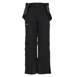 Kilpi Methone-JB černá dětské zimní lyžařské kalhoty
