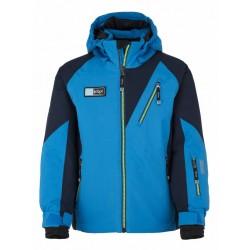Kilpi Garney-JB modrá dětská nepromokavá zimní lyžařská bunda