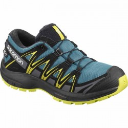 Salomon XA Pro 3D CSWP J lyons blue/black 407986 dětské nízké nepromokavé boty