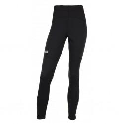 Kilpi Karang-W černá dámské elastické běžecké kalhoty zateplené