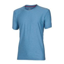 Progress Primitiv modrý melír pánské triko krátký rukáv