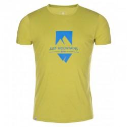 Kilpi Garove-M žluté pánské triko krátký rukáv