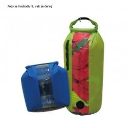 YATE Dry Bag s oknem a ventilem nepromokavý vak XL 20 l černý