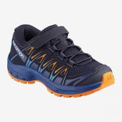 Salomon XA Pro 3D K medieval blue/mazarine blue wil 406389 dětské nízké prodyšné boty