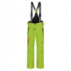 Husky Zeus Kids výrazně zelená dětské nepromokavé zimní lyžařské kalhoty