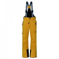 Husky Zeus Kids krémově žlutá dětské nepromokavé zimní lyžařské kalhoty HuskyTech 15000
