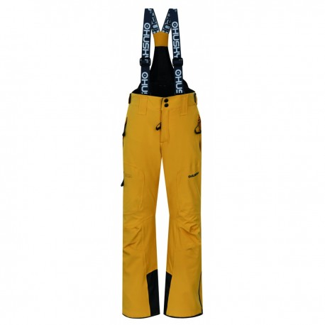 Husky Zeus Junior krémově žlutádětské nepromokavé zimní lyžařské kalhoty HuskyTech 15000