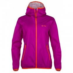 Kilpi Hurricane-W fialová dámská lehká nepromokavá bunda