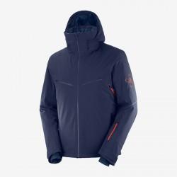 Salomon Brilliant Jacket M night sky C13991 pánská nepromokavá zimní lyžařská bunda